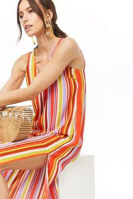 Forever 21 Striped Tank Dress