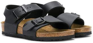 Birkenstock Kids buckle flat sandals