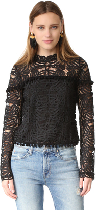 TULAROSA Holly Lace Top $160 thestylecure.com