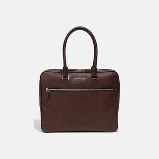 Salvatore Ferragamo Evolution Nappa Leather Briefcase