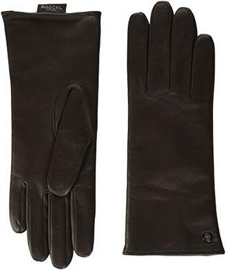 Roeckl Women's's Classic Wool Gloves, (Black 000), 7