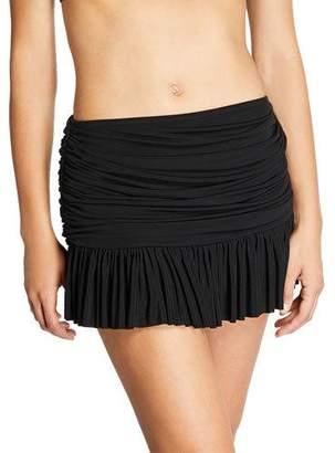 Norma Kamali Richie Skirted Bikini Bottom