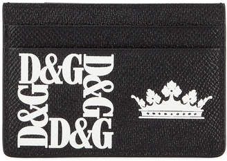 Dolce & Gabbana Men's Logo Money Clip Card Case