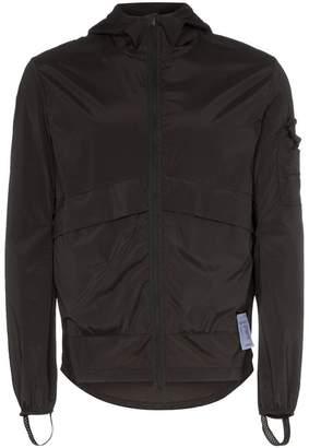 Satisfy Run Away print windbreaker jacket