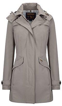 Woolrich John Rich & Bros. Women's Fayette Rain Coat $450 thestylecure.com