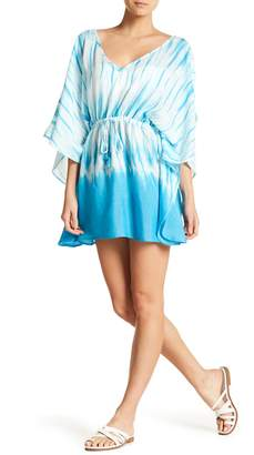 Hawaiian Tropic Resort Tie Dye Cover Up