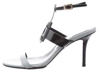 Roger Vivier Buckle Ankle Strap Sandals