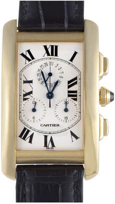 Cartier Heritage  Men's Leather Watch