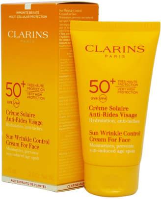 Clarins 2.6Oz 50+ Spf Sun Wrinkle Control Cream