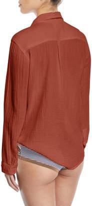 Neiman Marcus Xirena Scout Cotton Lounge Shirt