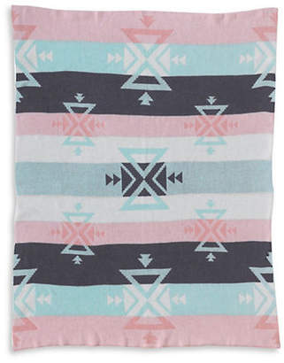 LOLLI LIVING Sparrow Knit Cotton Blanket