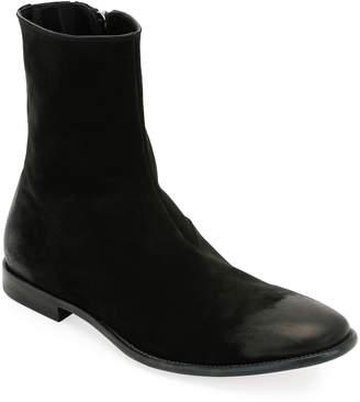 Alexander McQueen Men's Dream Suede Ankle Boot