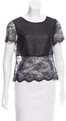Gryphon Lace Short Sleeve Top