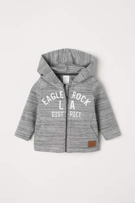 H&M Cardigan with Zip - Gray