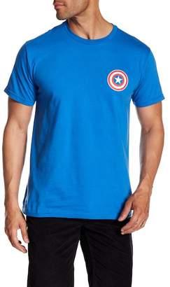 Mighty Fine Captain America Logo Tee