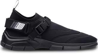 Prada Neoprene sneakers with decorative stitching