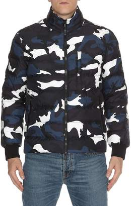Valentino Camouflage Down Jacket