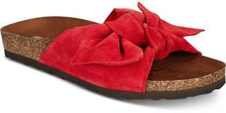 White Mountain Henley Slip-On Flat Sandals Women's Shoes