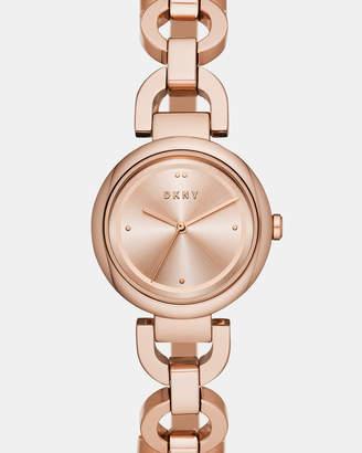 DKNY Eastside Rose Gold-Tone Analogue Watch