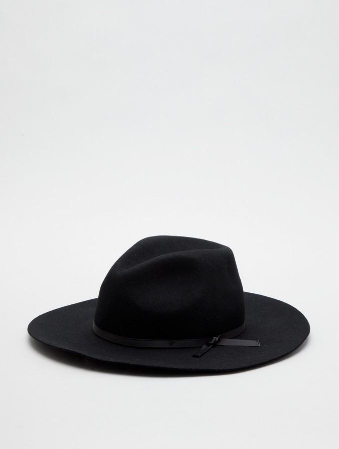 Wide Fedora Hat by Grace Hats