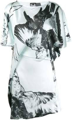 Ann Demeulemeester floral print short-sleeve dress