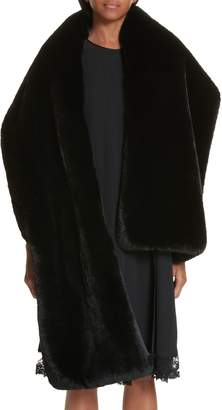 Marc Jacobs Faux Fur Stole