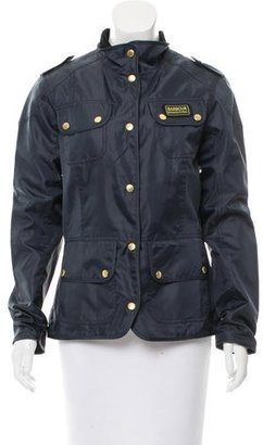 Barbour Lightweight Long Sleeve Jacket $200 thestylecure.com