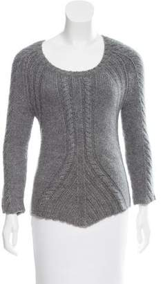Reed Krakoff Long Sleeve Cable-Knit Sweater