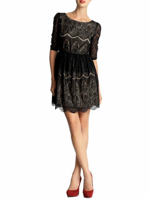 MM Couture Lace Mini Dress