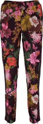 Moncler Pull On Floral Print Pant