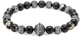 John Hardy Chain Batu Mediterranean Beaded Bracelet