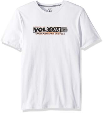 Volcom Men's Harsh Fade Short Sleeve Graphic Tee
