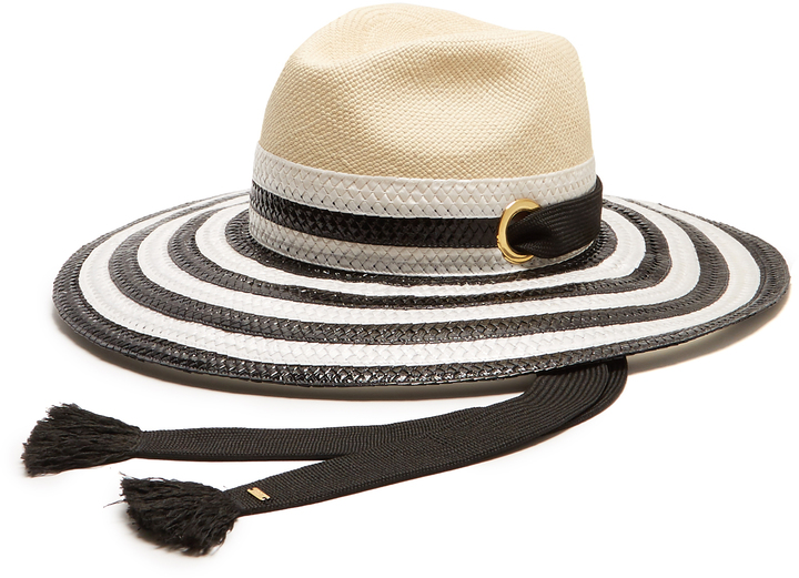 Sonia Rykiel SONIA RYKIEL Striped straw hat