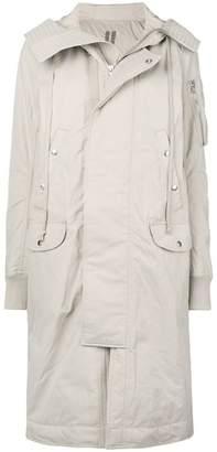 Rick Owens long parka coat