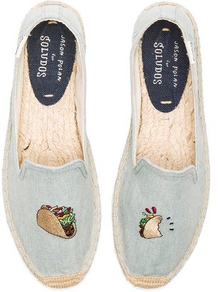 Soludos Embroidered Smoking Slipper $75 thestylecure.com