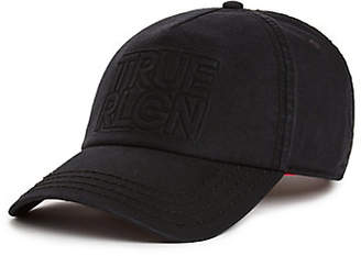 True Religion SILICONE MOLDED BASEBALL CAP