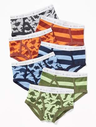 Old Navy Patterned Underwear Briefs 7-Pack for Toddler Boys