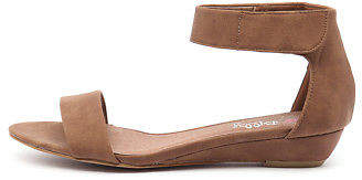 I Love Billy New Marlena Tan Womens Shoes Casual Sandals Sandals Flat