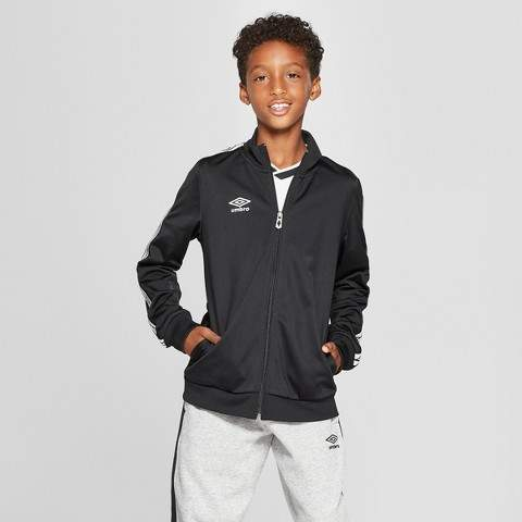 Umbro Boys' Double Diamond Track Jacket