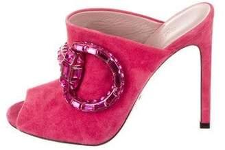 Gucci Maxime Horsebit Sandals