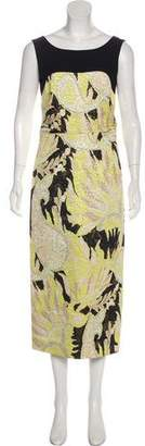 Dries Van Noten Brocade Maxi Dress