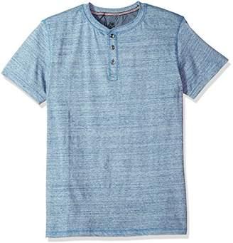 Lee Men's Short Sleeve Henley Shirt