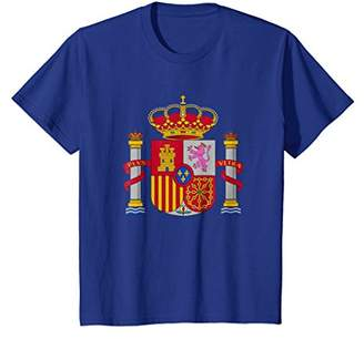 Spain Coat Of Arms Spanish Emblem Symbol T-Shirt