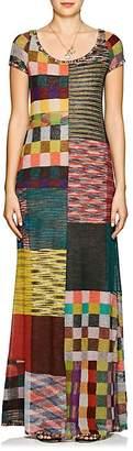 Missoni Women's Patchwork Alpaca-Blend Maxi Dress