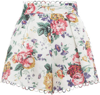 Zimmermann Allia High Waist Short