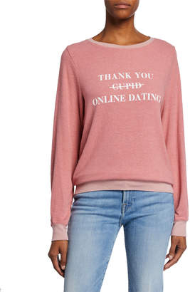 Wildfox Couture Swipe Right Baggy Beach Jumper