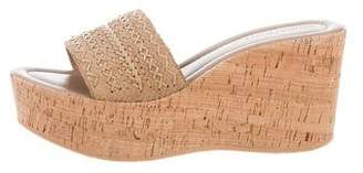 Donald J Pliner Platform Wedge Sandals