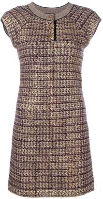 Chanel Pre-Owned knitted fitted dress