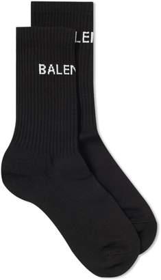 Balenciaga Tennis Logo Sock