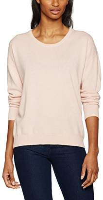 J. Lindeberg Women's Manda Light Cashmere Jumpers, (lt Pink), 6 (Size:X-Small)